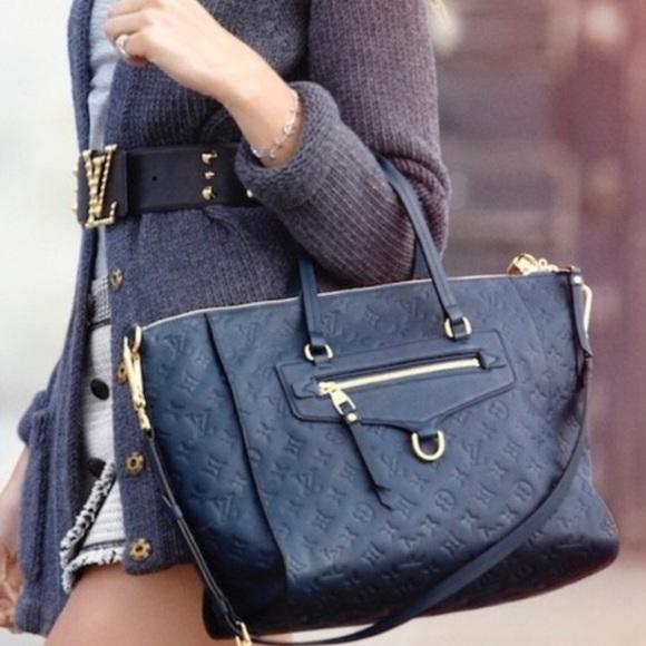 Louis Vuitton Handbags - 🌺 ✨Authentic✨🌺Louis Vuitton Blue Tote Bag